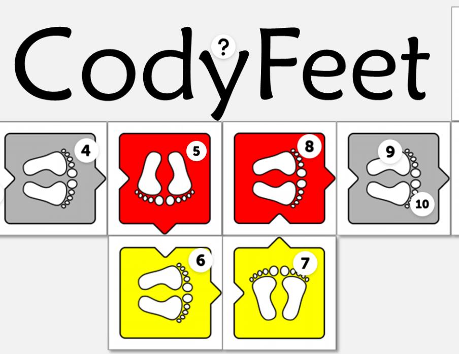 Coding unplugged-codyfeet-codemooc-formazione docenti 4°lezione-codinginyourclassroomnow