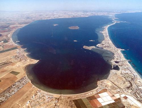 La Manga del Mar Menor en la Región de Murcia