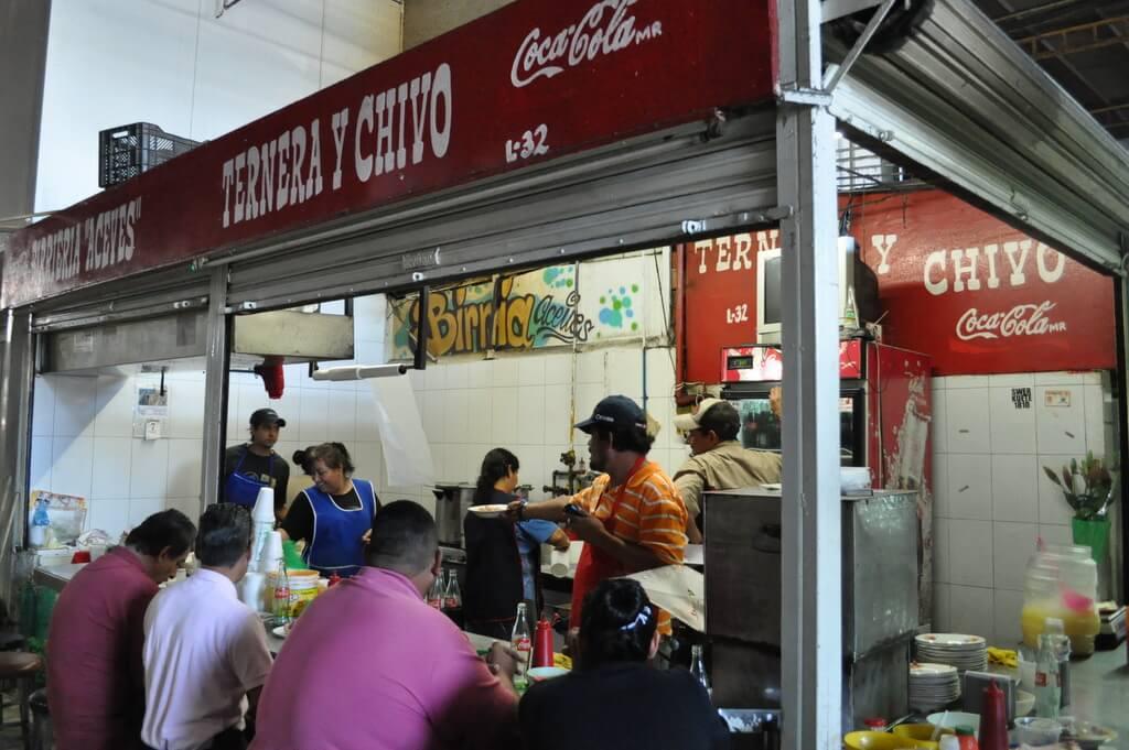 Birrieria Aceves, Mercado de Abastos, Guadalajara