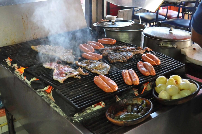 Carne Asada in Mercado de Abastos Guadalajara