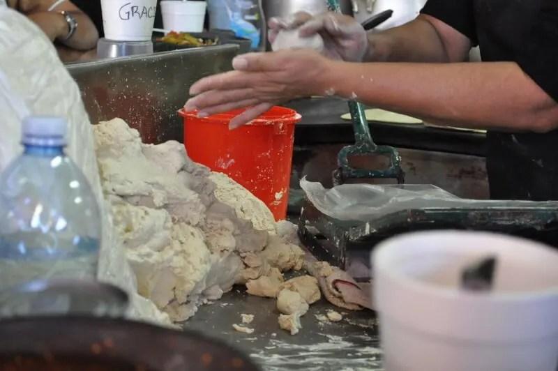 Tortillas at Alfonso's