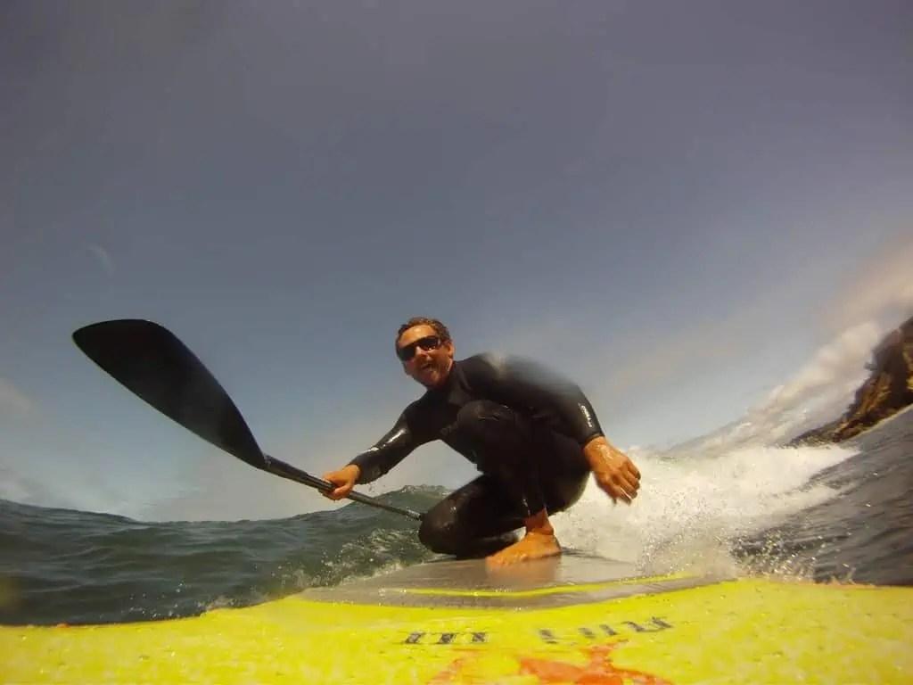 SUP Surf La Jolla