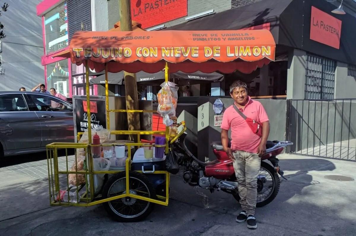 Tejuino Cart, Guadalajara