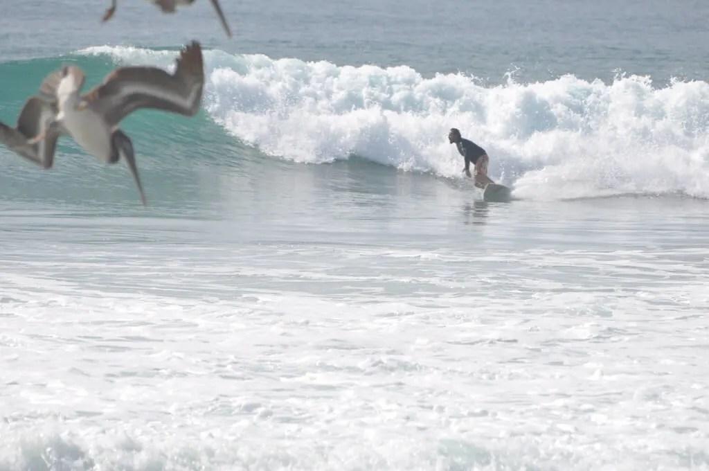 surfing la Ticla Michoacan