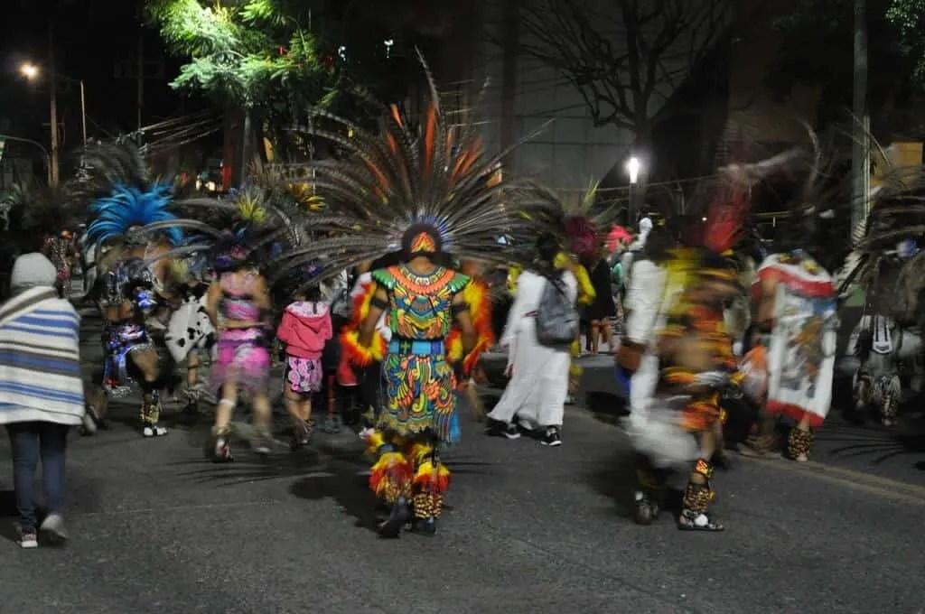Danzante in the Romería de la Virgen de Zapopan