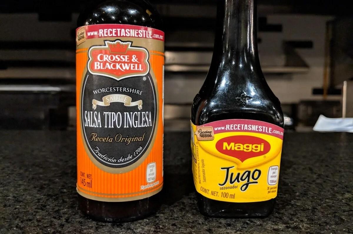 Salsa Inglesa and Jugo Maggi are NOT gluten free