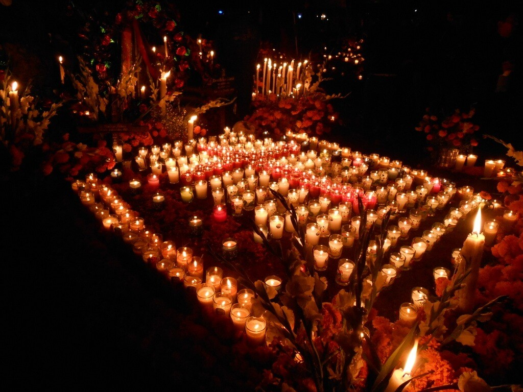 Day of the Dead Cemetery Michoacan