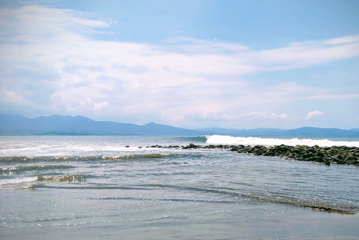 Stoner's Point, Nayarit. One of the longest right hand point breaks in the world