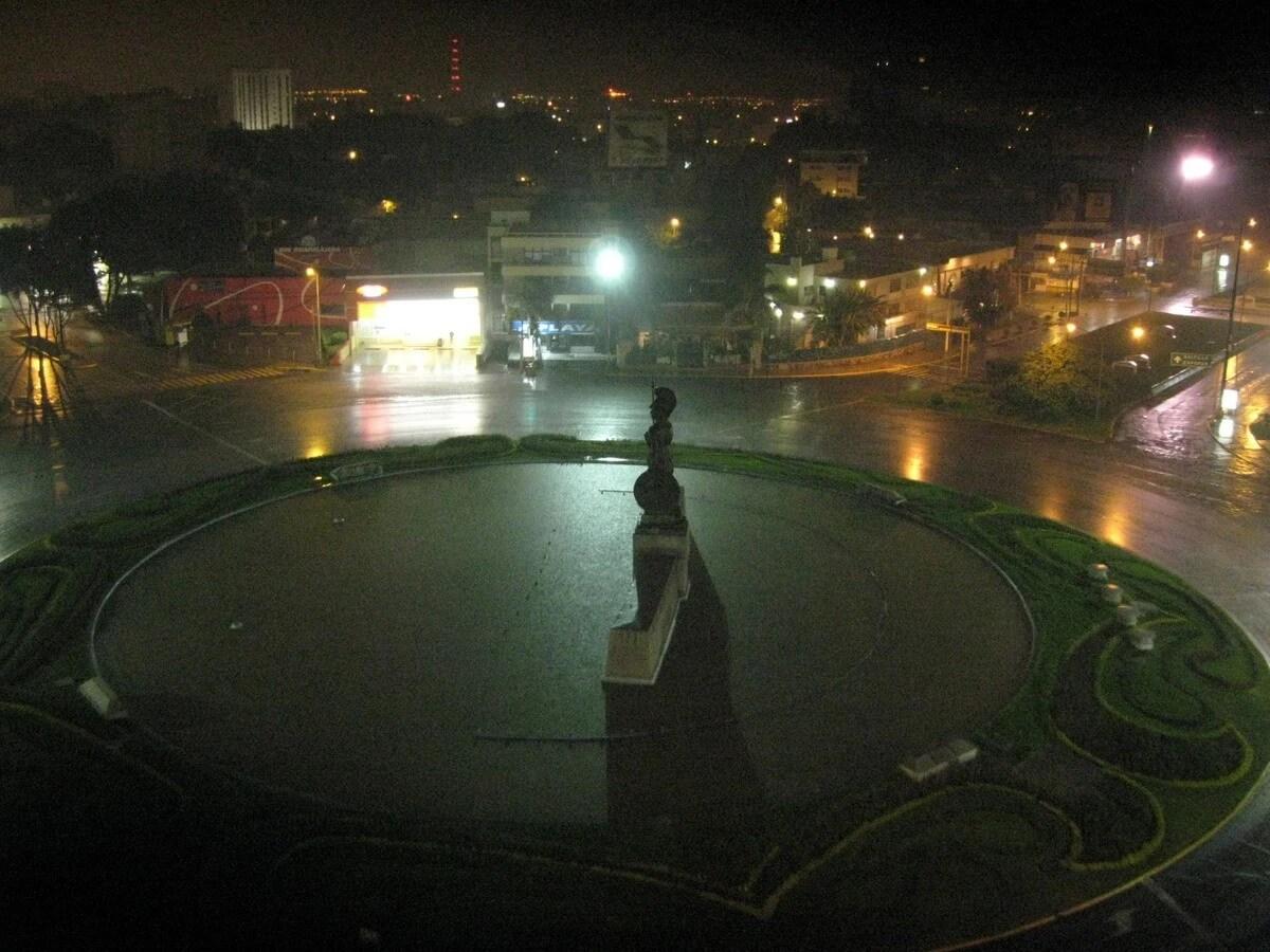Rain in the Minerva
