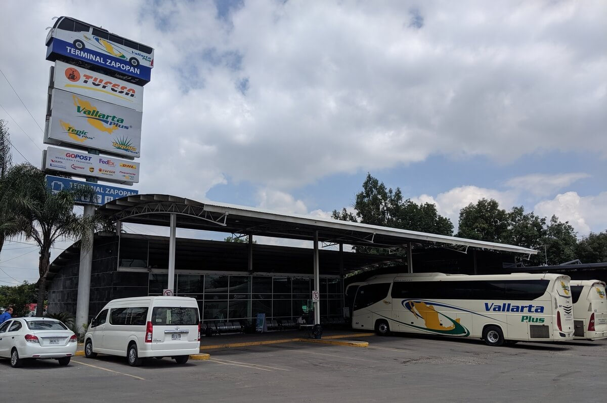 Vallarta Plus bus from Guadalajara to Puerto Vallarta