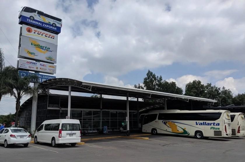 Vallarta Plus long distance bus station in Guadalajara