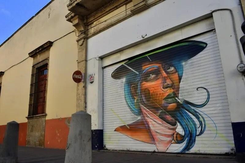 Downtown Guadalajara mural