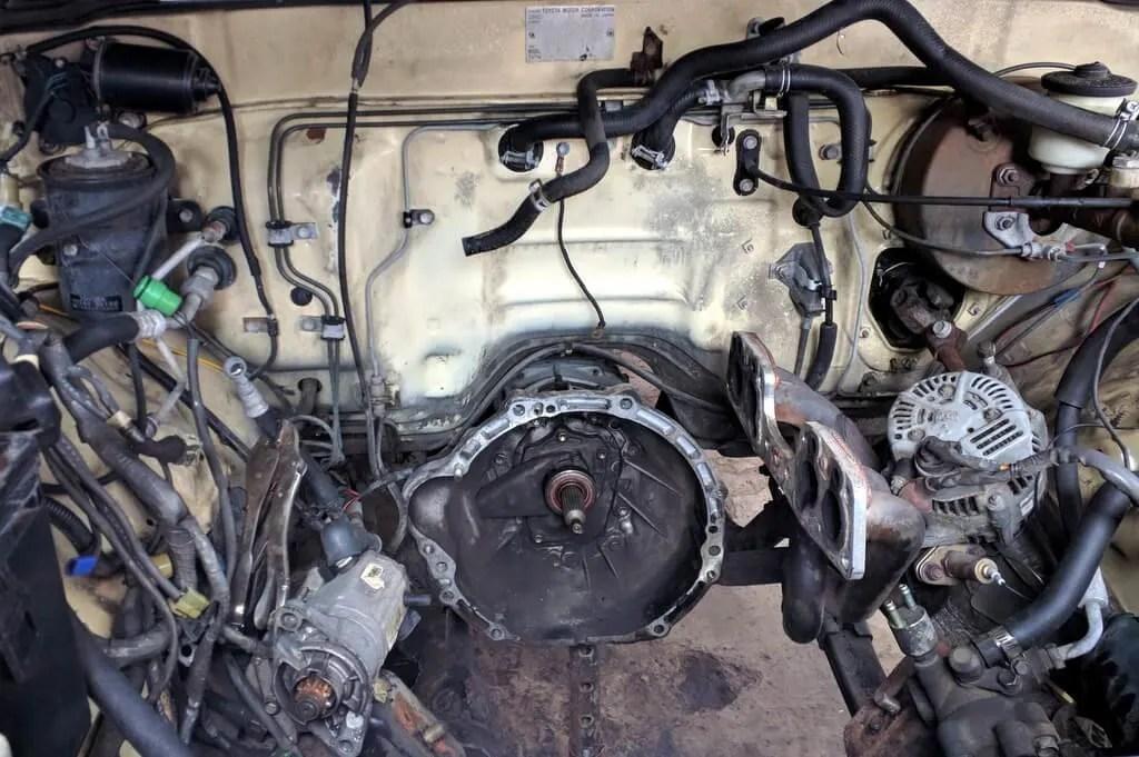 1985 Toyota pickup 4x4 engine rebuild