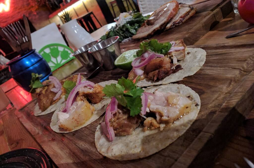 Types of tacos