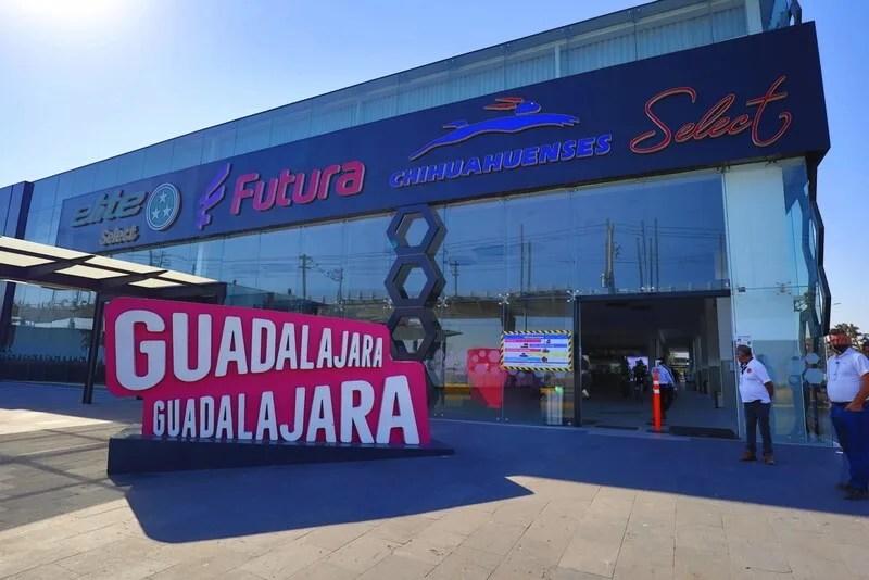Newly remodeled terminal 7 at the Central Nueva Guadalajara