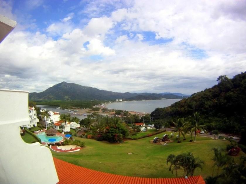 View of La Boquita, Manzanillo, Colima