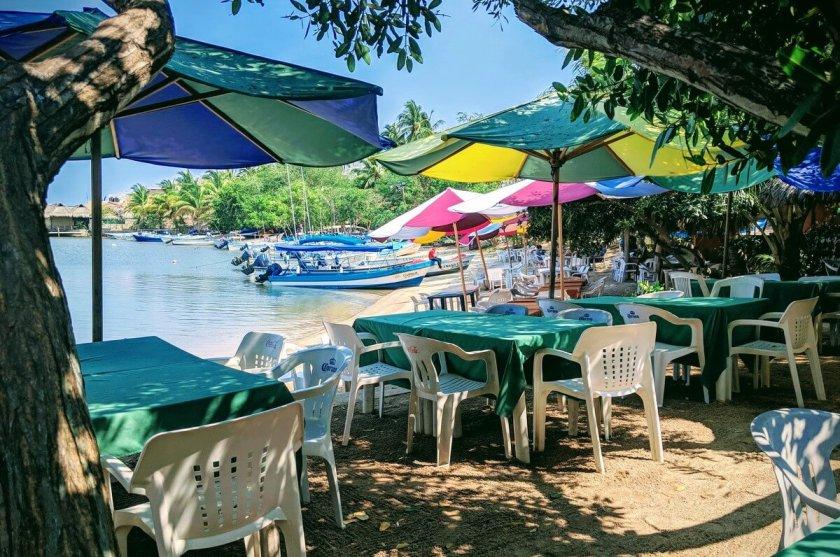 Restaurante La Colimilla, La Culebra, Colima