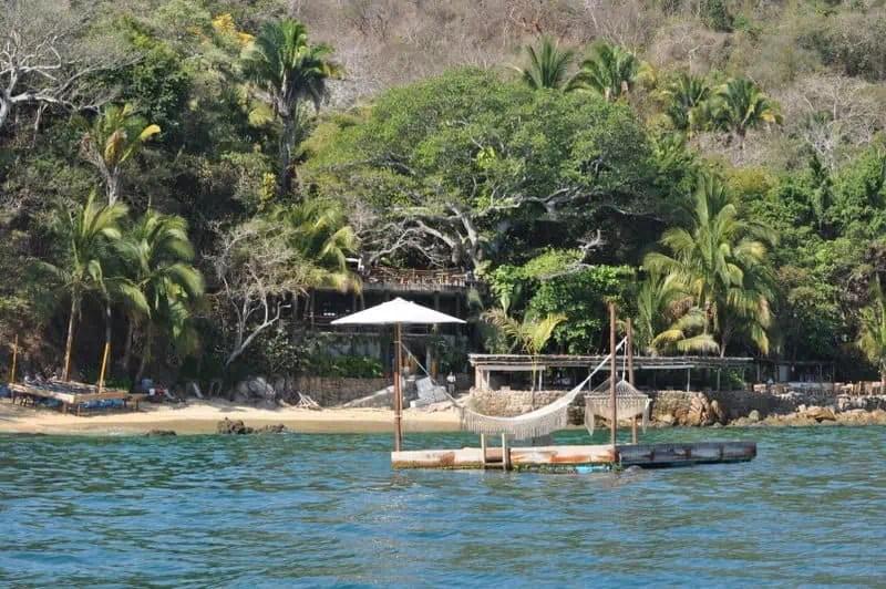 Playa Las Caletas puerto vallarta beaches