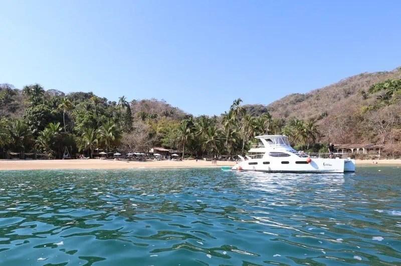 The best beaches in Puerto Vallarta Playa Majahuitas.