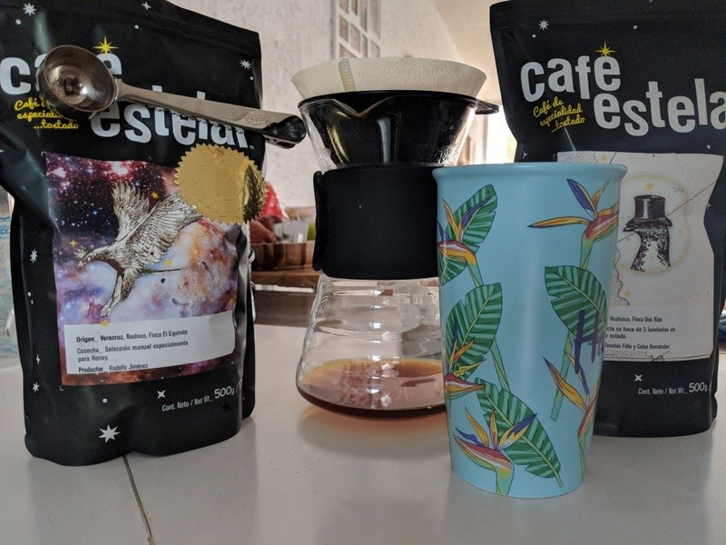 Coffee souvenirs from Mexico