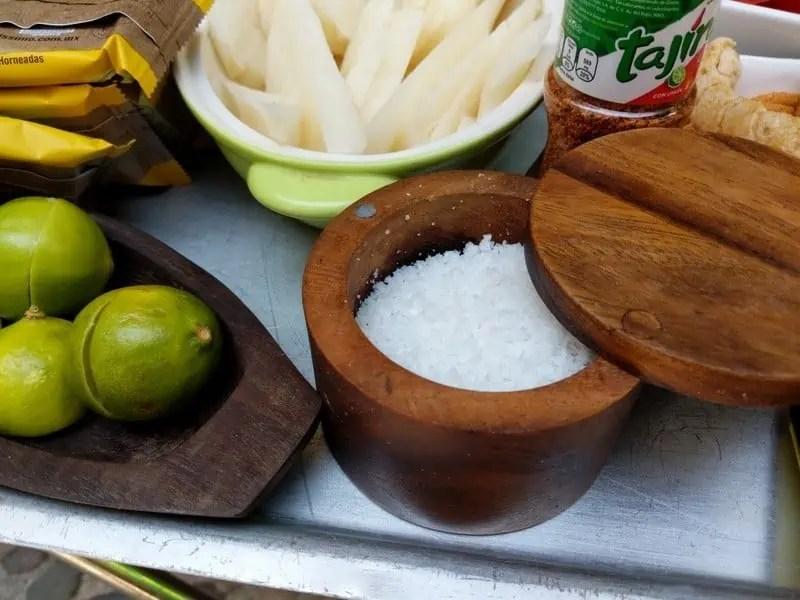Sea salt souvenirs from Mexico