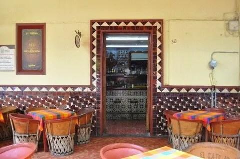 Classic Mexican cantina at the Parian de Tlaquepaque Jalisco