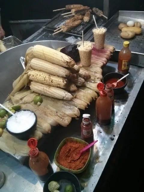 corn elotes in Tlaquepaque, Jalisco
