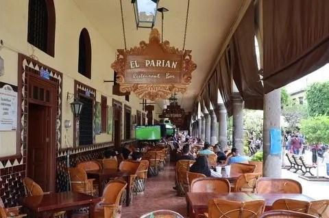 The Parian restaurant in Tlaquepaque Jalisco