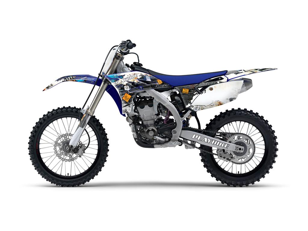 Yamaha Yz250f 450f Industry Graphics Series