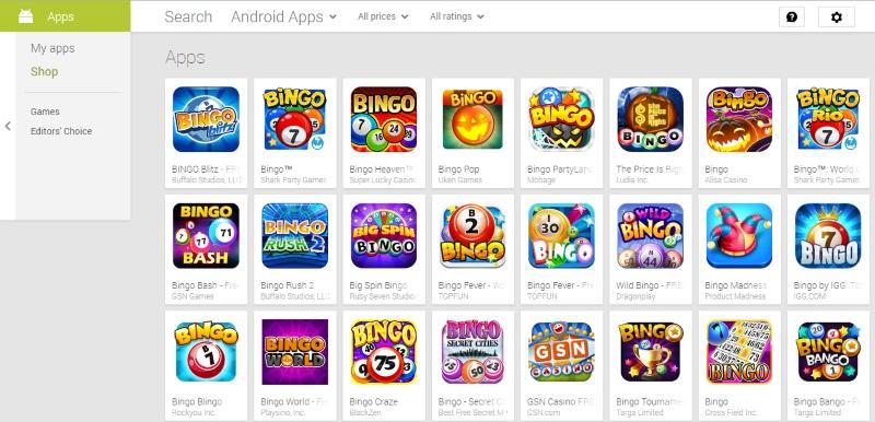 iphone bingo apps