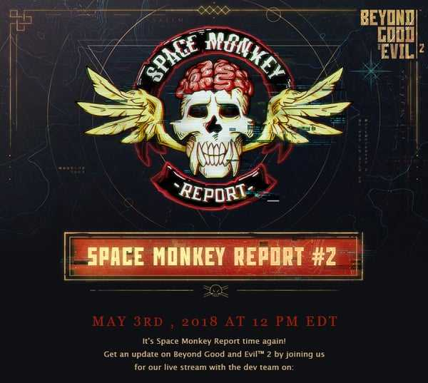 Beyond Good and Evil 2 Space Monkeys