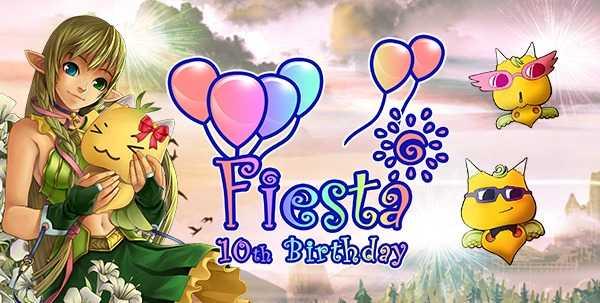 Fiesta 10 Birthday