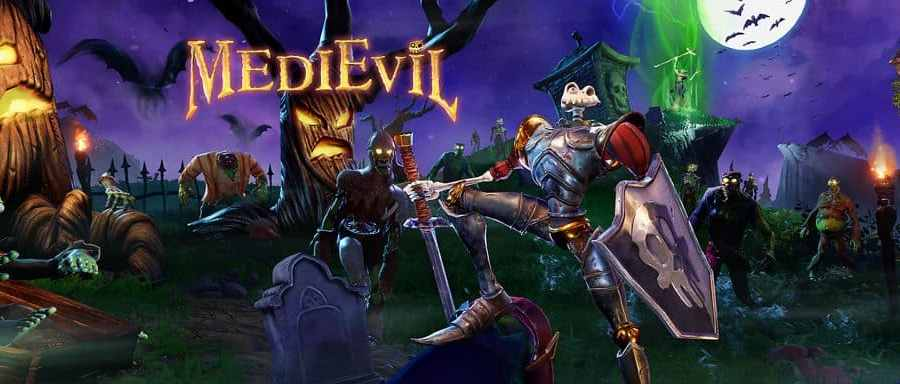 medievil hero logo