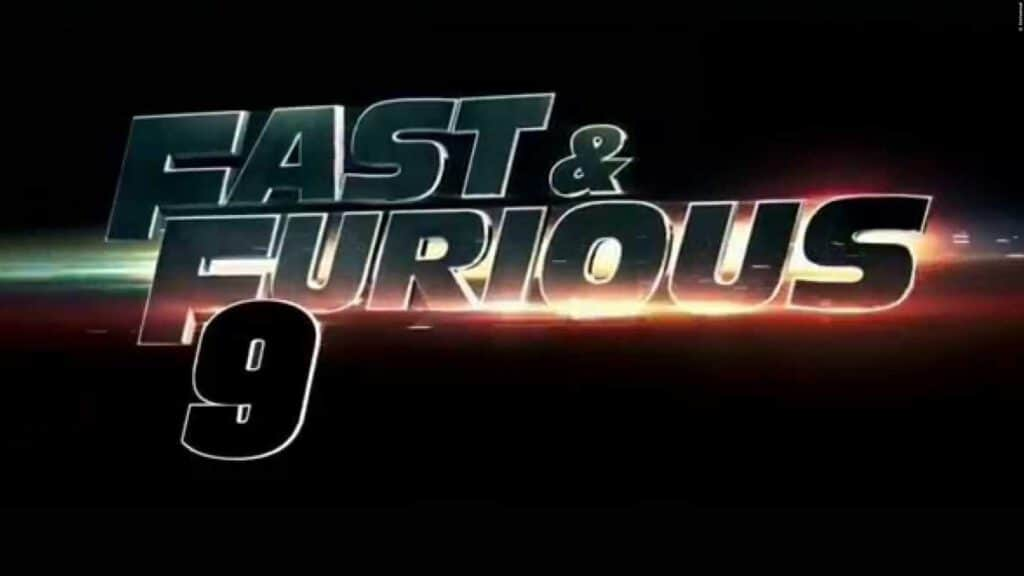 Fast and Furious 9 Logo