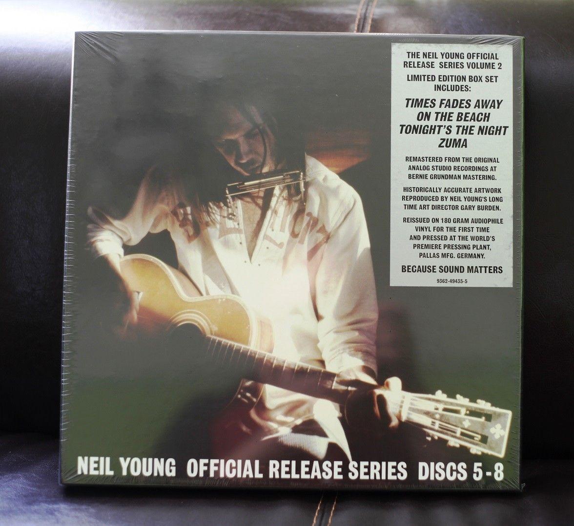 Risultati immagini per Neil Young, Official Release Series Discs 8.