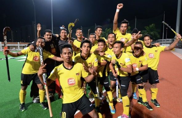 Malaysia vs New Zealand Hockey Match Sultan Shah Cup 2016
