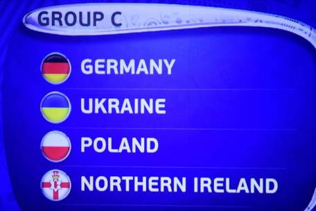 Group C UEFA Euro 2016 Standings