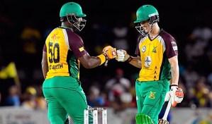 Barbados Tridents vs Guyana Amazon Warriors CPL 2016