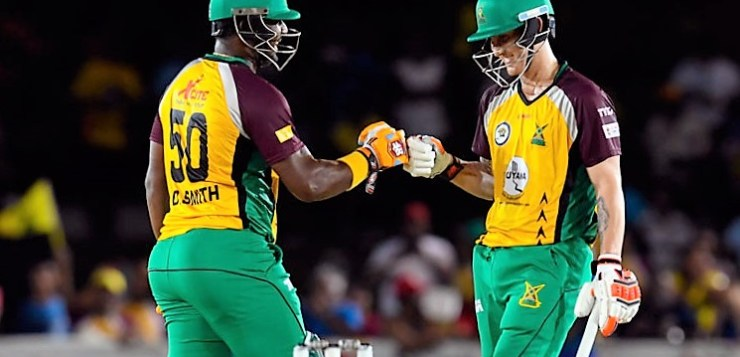 Barbados Tridents vs Guyana Amazon Warriors CPL 2016