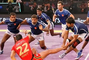 Jaipur Pink Panthers vs Dabang Delhi Kabaddi Match 2016