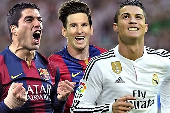 Messi vs Ronaldo? Messi is better says Suarez