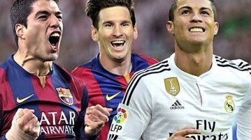 Messi vs Ronaldo- Messi is better says Suarez