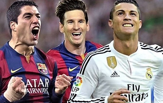 Messi vs Ronaldo- Messi is better says Suarez