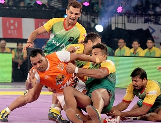Patna Pirates vs Puneri Paltan