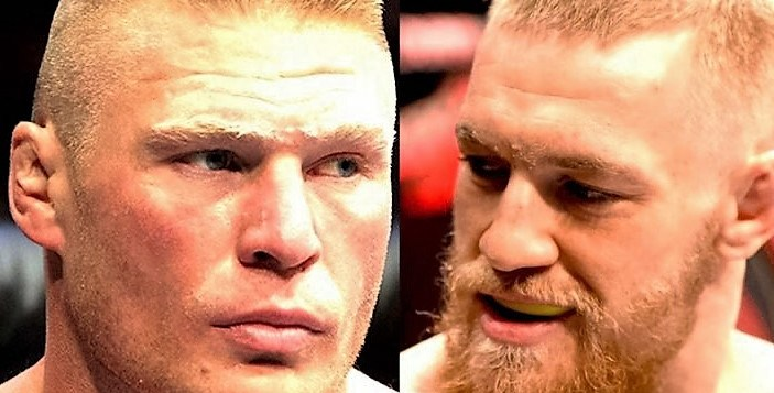 Brock Lesnar responds to Conor McGregor's comments