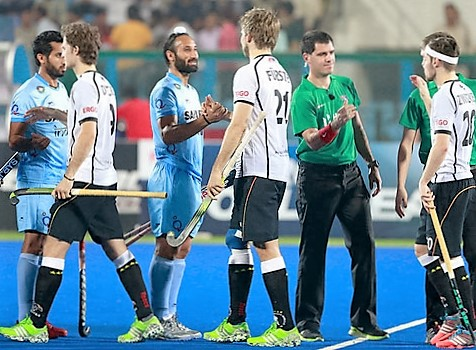 India vs Germany 3 Nations Invitational Tournament Hockey 2017