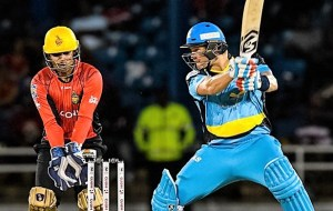 2016 CPL Playoff 2 St Lucia Zouks vs Trinbago Knight Riders Semi Final