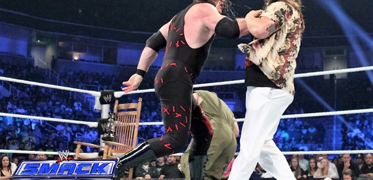 Kane vs Bray Wyatt Smackdown October 4