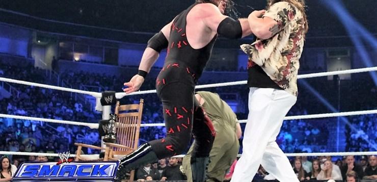 Kane vs Bray Wyatt Smackdown October 4