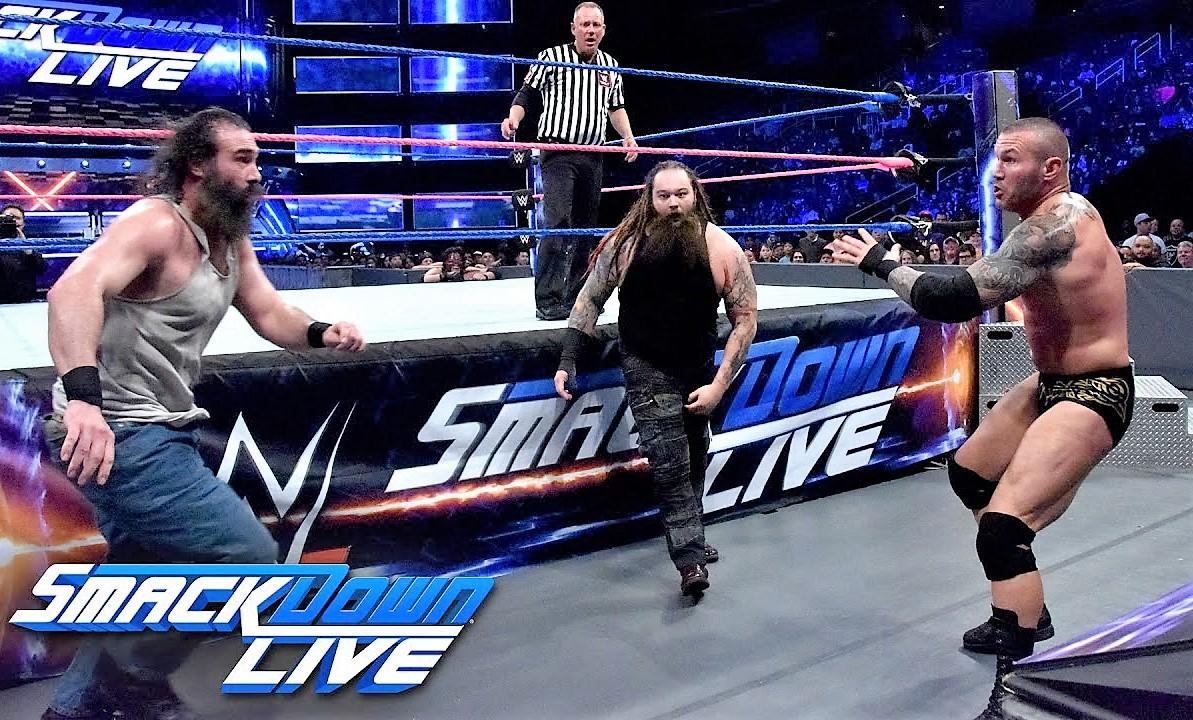 WWE SmackDown Live Results From October 11 | Randy Orton & Kane vs. Bray Wyatt & Luke Harper